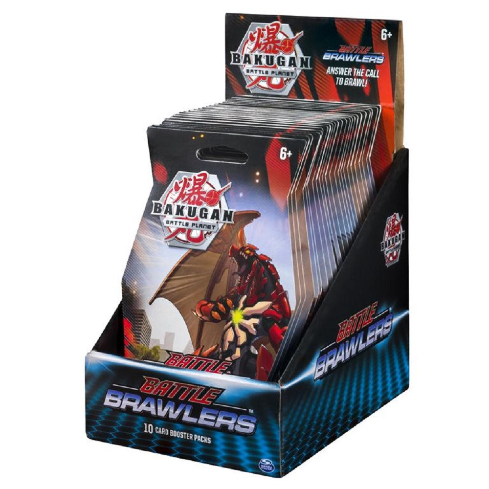 Bakugan Battle Brawlers Booster Pack (Cover May Vary) 1 pack