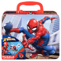 Spiderman Puzzle In Tin With Handle (New)