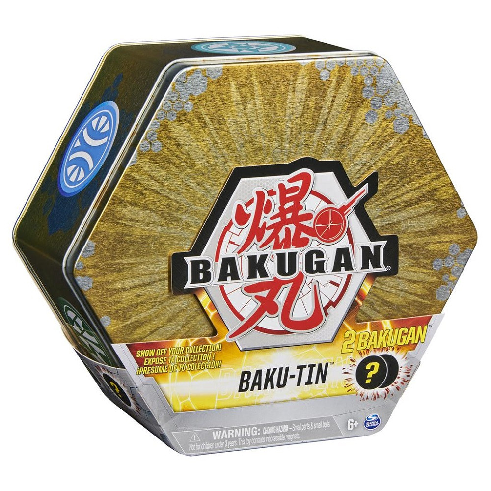 Bakugan Baku-Tin (Gold)
