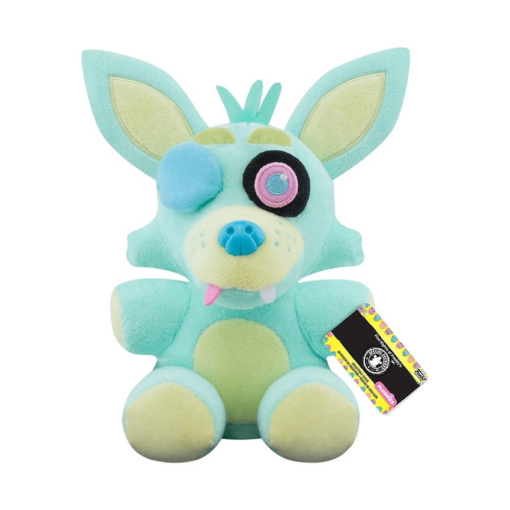 Foxy (GR) Plush Toy - Spring Colorway - Five Nights at Freddy's - 6 Inch