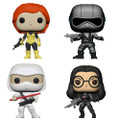 GI Joe Funko POP - Bundle of 4 - Movies
