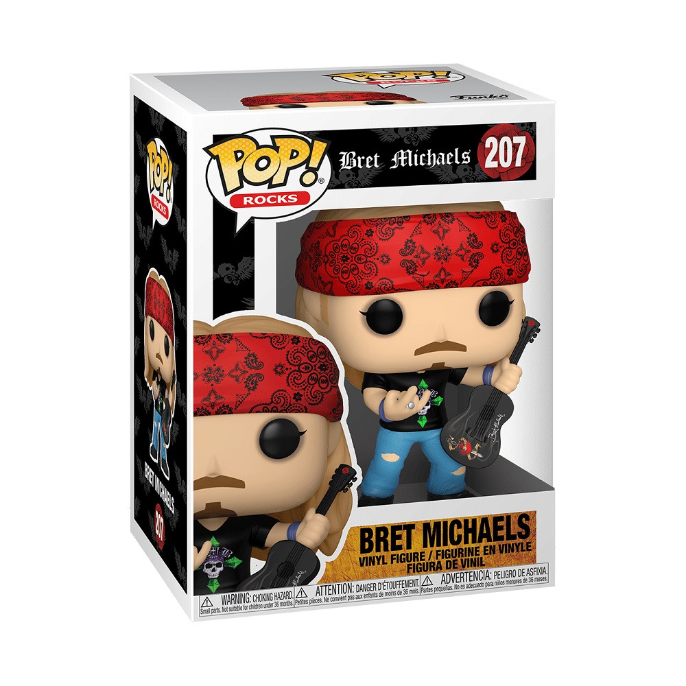 Bret Michaels Funko POP - Bret Michaels - Rocks