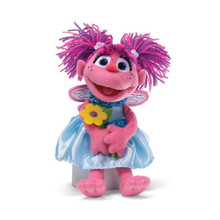 Abby With Flower Plush 11 Inch