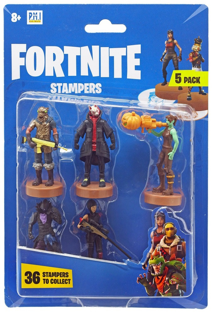 Fortnite Epic Games Stampers 5 Pack (Drift)