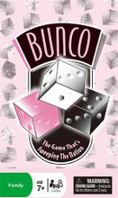 Bunco Family Game in Storage Tin