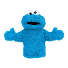 Cookie Monster Hand Puppet 11 Inch