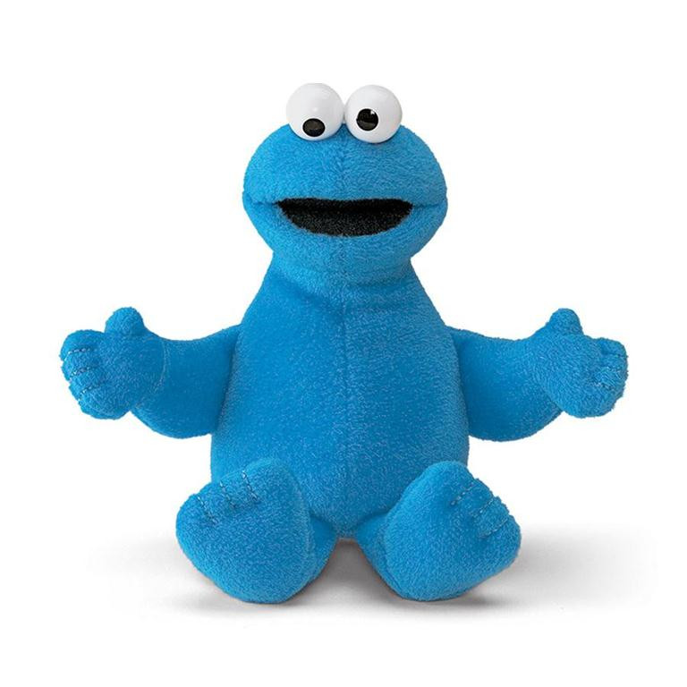 Cookie Monster Beanbag 6.5 inch