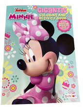 Coloring Book - Minnie Mouse - 192P - Coloring and Activity Book - Bows