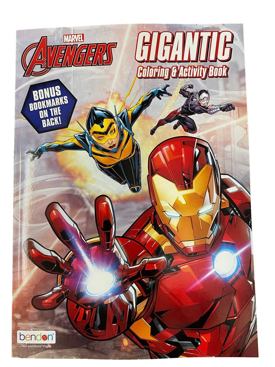 Coloring Book - Avengers - 192P - Coloring and Activity Book
