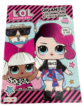 Coloring Book - LOL Surprise - 192P - Coloring and Activity Book - Born to be Bad
