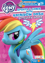 Coloring Book - My Little Pony - 64P - Coloring and AR Book - Rainbow Dash