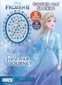 Coloring Book - Frozen 2 - 32P - Coloring and Activity Book w Jewel Stickers