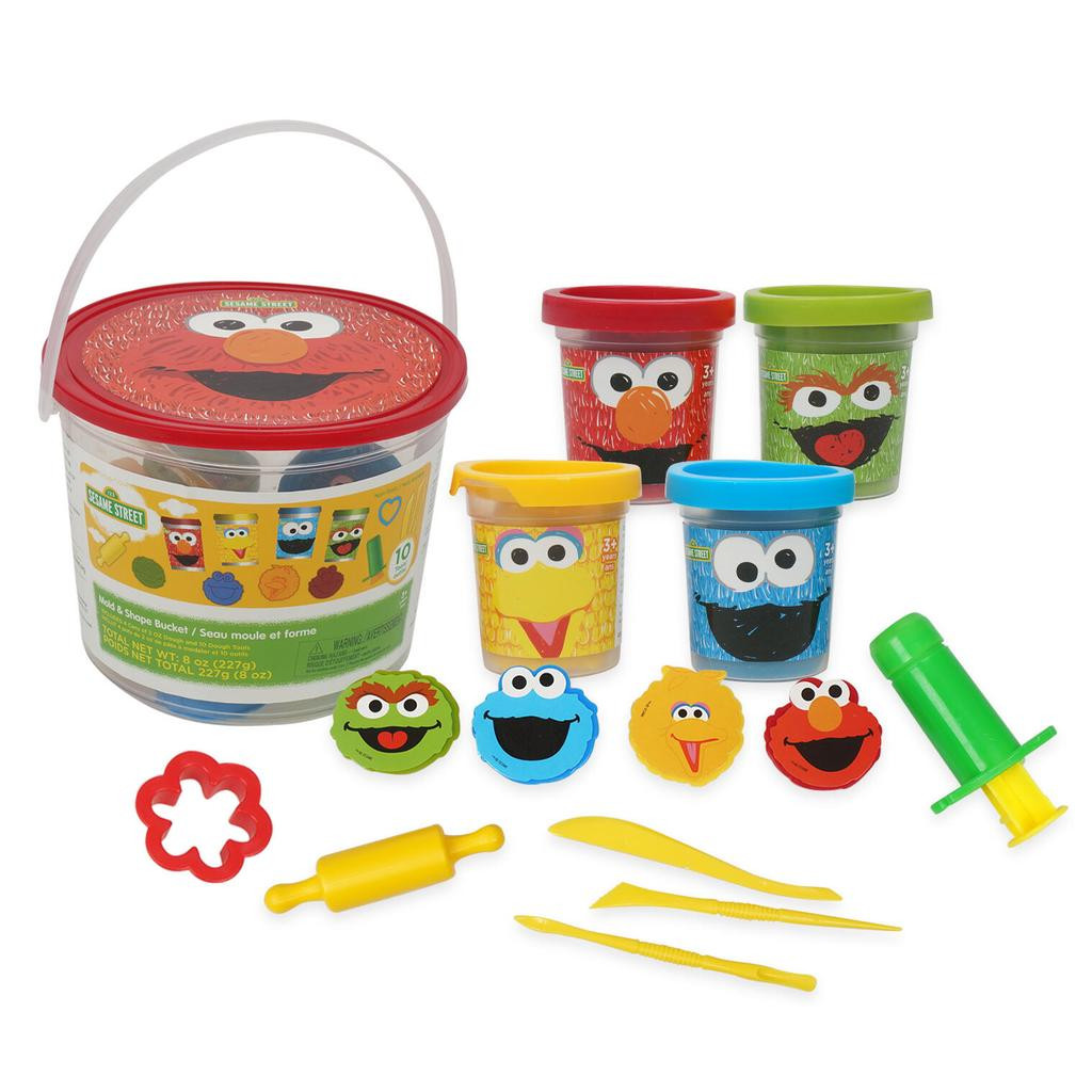 Sesame Street Mold and Shape Bucket Activity Set