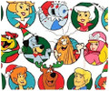 Gift Wrap - Hanna Barbera - 39 Inch X 6 Ft - Paper - 1 Roll