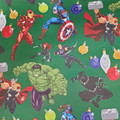 Gift Wrap - Avengers XMas - 39 Inch X 6 Ft - Paper - 1 Roll