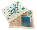 JOJO Siwa Wooden Stamper Set - Open