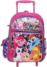 Rolling Backpack - My Little Pony - Large 16 Inch - Friendship is Magic