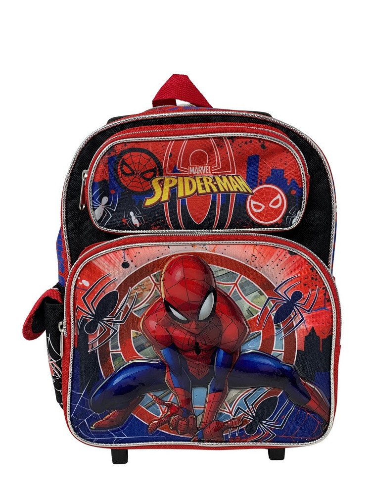 Rolling Backpack - Spider Man - Small 12 Inch - Go Spidey!
