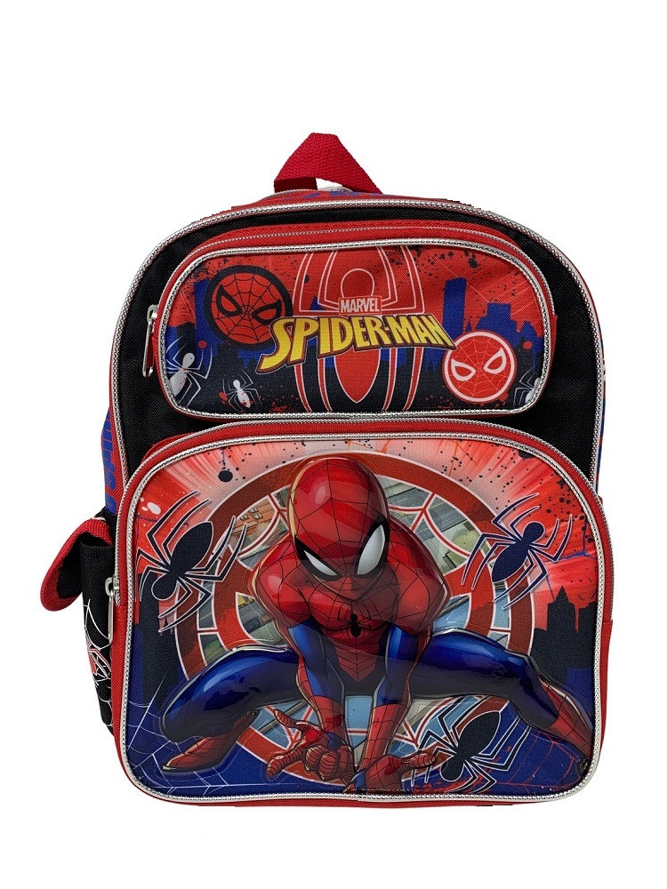 Backpack - Spiderman -Go Spidey! - Small 12 Inch