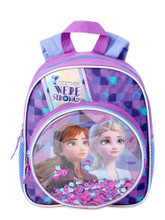 Backpack - Frozen - Small 12 Inch - Purple - Sequins