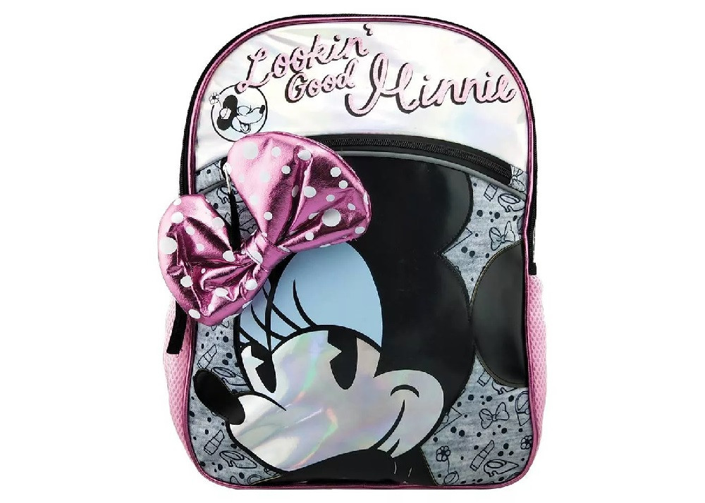 Backpack - Minnie Mouse - Large 16 Inch