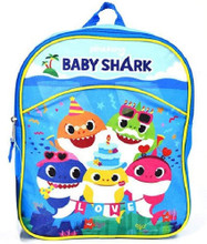 Backpack - Baby Shark - Small Backpack- 11 Inch - Party