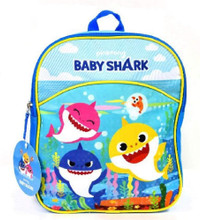 Backpack - Baby Shark - Small Backpack- 11 Inch