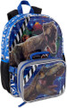 Backpack - Jurassic World - Large 16 Inch - w Lunch Box - Blue