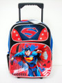 Rolling Backpack - Superman - Large 16 Inch - Man of Steel