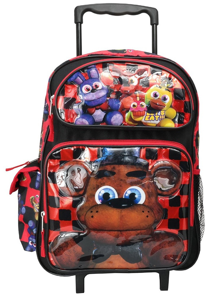 Backpack - Five Nights at Freddy's - Large 16 Inch Rolling - Freddy