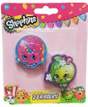 Shopkins - Erasers - D'lish Donut & Apple Blossom - Party Favors - 2ct
