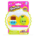 Shopkins - 2 Pack - Puzzle Erasers - Cheeky Chocolate & Apple Blossom - Party Favors