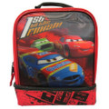 Cars Lunch Box - Double Zipper - Red