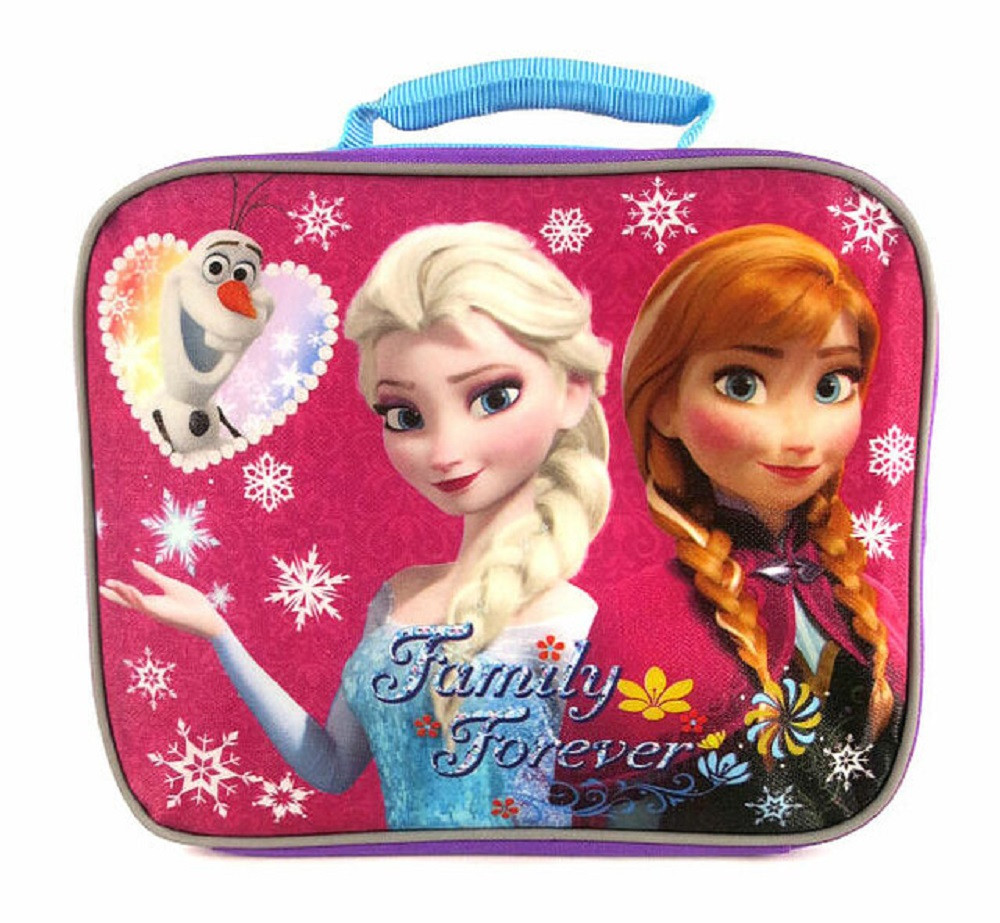 Frozen Lunch Box - Family Forever - Purple