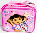 Dora and Boots Lunch Box - w/ Strap - Pink