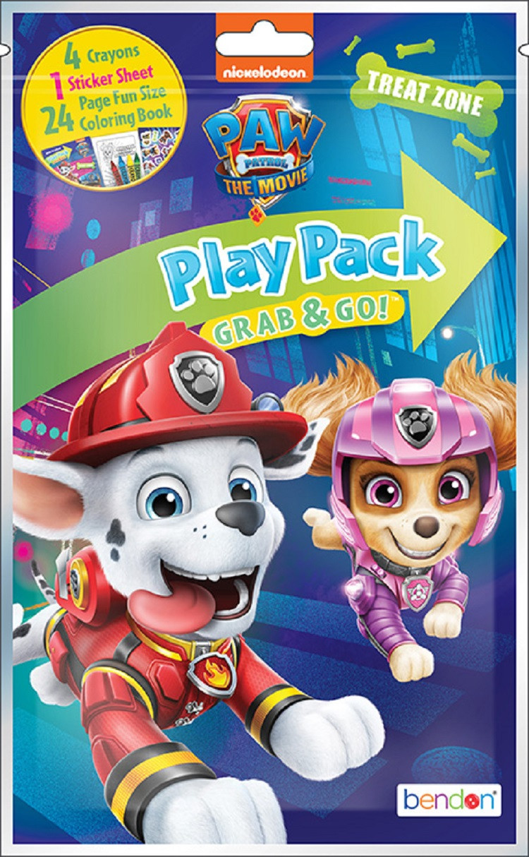 Paw Patrol Movie Grab and Go Play Pack Party Favors 1ct