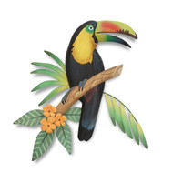 Toucan Wooden Wall Sculpture