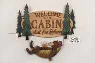 Bear Hammock Welcome Sign - CJ022
