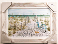 "Beach Cruiser Painting 30 x 22"" FD40700"