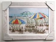 "Threes Company Beach Painting FD53603 30x22"""