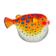 Puffer Fish Large OS148