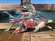Hogfish Metal Wall Art