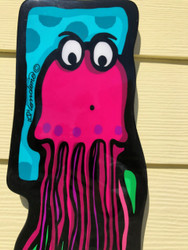 """Belinda"" The Jellyfish Wall Art"