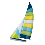 Hobie Cat 90 cm (lanai safe) OS134 Metal Wall Art