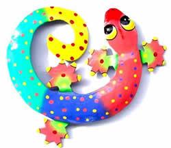 Curly Gecko Artwork