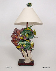 Queen Angelfish Lamp