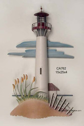 Cape May NJ, Lighthouse - Metal Wall Art