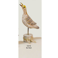 wooden rustic seagull