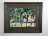 "Stand of Coconut Palms 20.5"" x 16.5"""