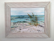 "Relaxation 19"" x 15"" Framed Painting"